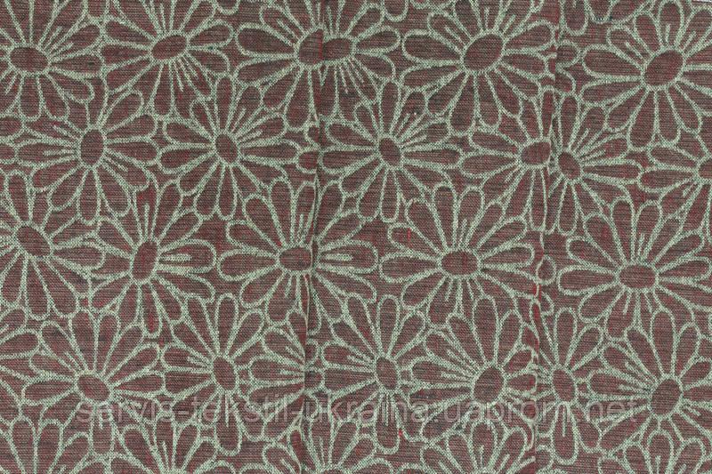 Ткань декоративная 16С14-ШР+С Рис.59 - Космея