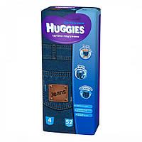 Подгузники Huggies Jeans для мальчиков 4, 52 шт.
