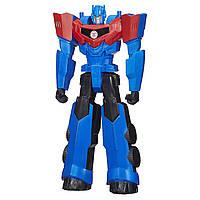 Уценка! Трансформеры Титаны большой Оптимус Прайм 30 см высотой. Оригинал Transformers Hasbro