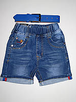Джинсовые шорты для мальчиков F&D оптом,104-134 pp.