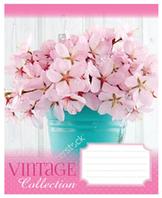 Тетради 12 листов клетка рисунок цветы в ассортименте ЗУ, рисунки в ассортименте