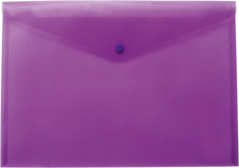 Папка конверт Buromax А4 прозрачная фиолетовый BM.3926-07