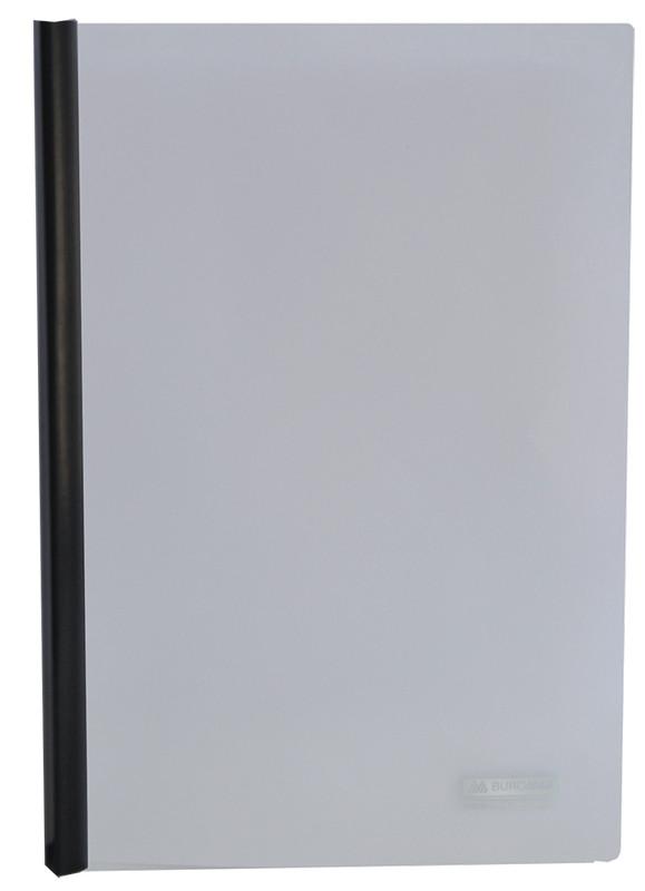 Папка скоросшиватель Buromax А4 прижим 10мм черная BM.3371-01