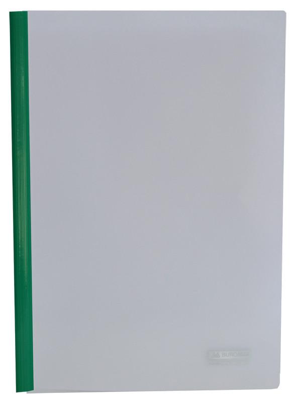 Папка скоросшиватель Buromax А4 прижим 15мм зеленый BM.3372-04