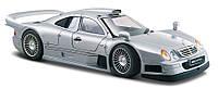 Автомодель 1:26 Mercedes CLK-GTR street version серебристый MAISTO (31949 silver)
