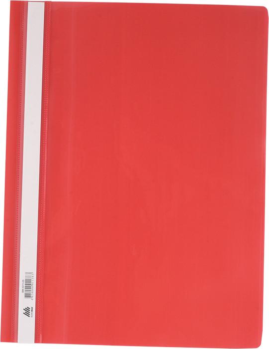 Скоросшиватель Buromax А4 красный усы, PP (BM.3311-05)