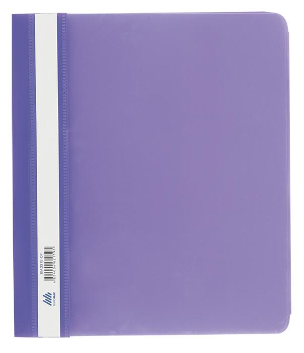 Швидкозшивач А4 Buromax Jobmax PP фіолетовий BM.3312-07