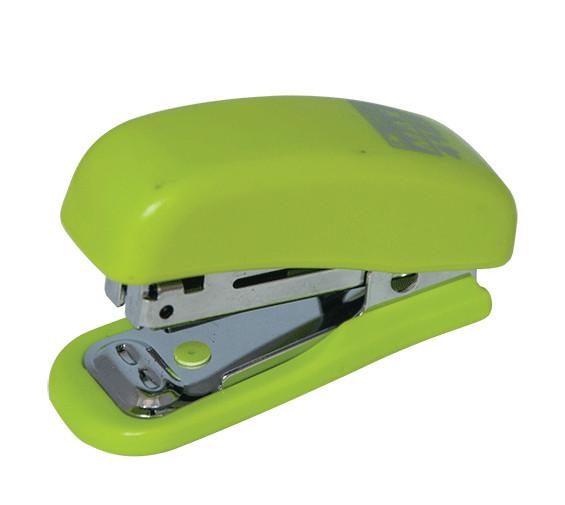 Степлер №10 Buromax 10л пластик. Мини св-зеленый BM.4125-15