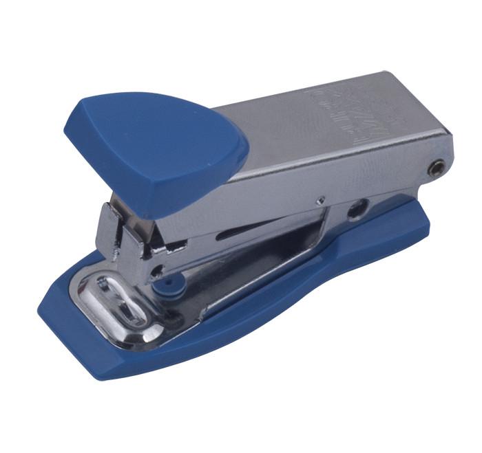 Степлер №10 Buromax 12л метал. синій BM.4151-02