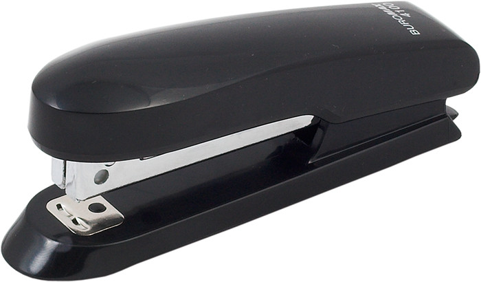 Степлер №10 Buromax 15л пластик. чёрный BM.4100-01