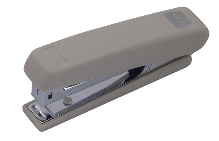 Степлер №10 Buromax RUBBER TOUCH 12л пластик. серый BM.4128-09