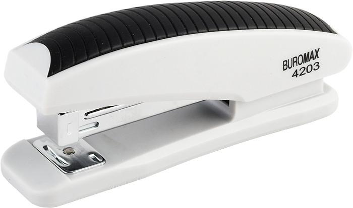 Степлер №24 Buromax 20л пластик. серый BM.4203-09