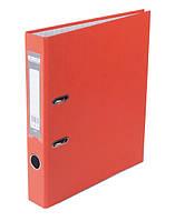 Папка регистратор,  5см (LUX, Buromax, А4, одностор. покр, РР, оранжевый, BM.3012-11c)