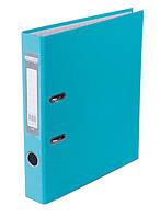 Папка регистратор,  5см (LUX, Buromax, А4, одностор. покр, РР, голубой, BM.3012-14c)