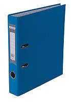 Папка регистратор,  5см (LUX, Buromax, А4, одностор. покр, РР, светло-синий, BM.3012-30c)