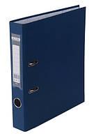 Папка регистратор,  5см (LUX, Buromax, А4, одностор. покр, РР, темно-синий, BM.3012-03c)