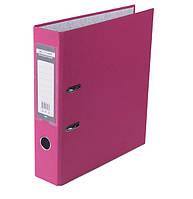 Регистратор 7 см Buromax PP А4 односторонняя розовый LUX (BM.3011-10c)