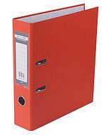 Папка регистратор, 7см (LUX, Buromax, А4, одностор. покр, РР, оранжевый, BM.3011-11c)