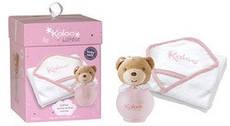 Детский набор Kaloo Lilirose (парфюмированная дымка 100мл+детская банная пеленка)