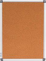Доска пробковая 45Х60см (Buromax, алюм. рамка, BM.0016)