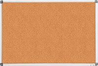 Доска Buromax  пробковая 60Х90см алюминевая рама BM.0017