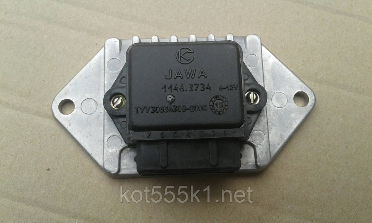 Коммутатор электронного зажигания Ява 12в 638