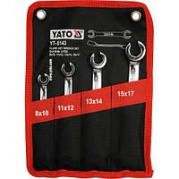 Набор разрезных ключей Yato  для тормозных трубок