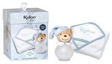 Детский набор Kaloo Blue (парфюмированная дымка 100мл+детская банная пеленка)