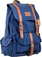 Рюкзак подростковый CA 046, синий, 31*44*19