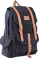 Рюкзак подростковый CA 046, черный, 31*44*19