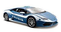 Автомодель 1:24 Lamborghini Huracan Polizia синий металлик MAISTO (31511 blue)