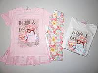 Комплект для девочек F&D оптом,98/104-122/128 рр.