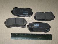Колодка тормозная HYUNDAI ACCENT, i30, заднего (производитель TRW) GDB3421