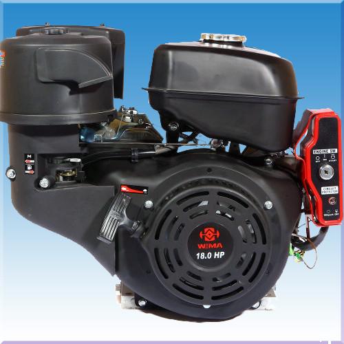 Двигатель бензиновый Weima WM192FЕ-S New (18л.с. электростартер)