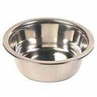 Миска Трикси стальная для собак, 0,2л, 10см