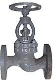 Вентиль стальной фланцевый 15с65нж д.150