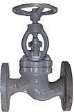 Вентиль стальной фланцевый 15с65нж д.15