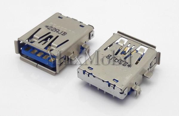 Разъем USB 3.0  мама, гнездо, U314