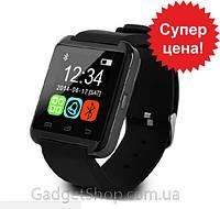 Умные часы U8, smartwatch, оригинал, в коробке