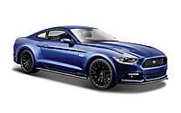 Автомодель 1:24 Ford Mustang GT 2015 синий MAISTO (31508 blue)