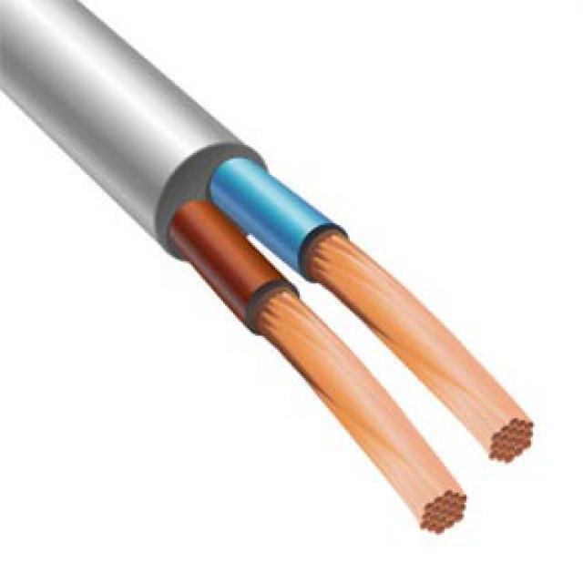 Силовой кабель  ШВВП 2х0,35 CU 100м