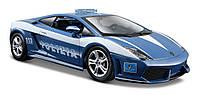 Автомодель 1:24 Lamborghini Gallardo LP560-4 - Polizia синий MAISTO (31299 blue)