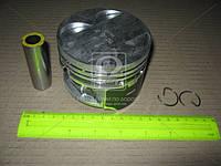 Поршень цилиндра ЗМЗ 406 d=92,5 (палец+ стакан ), 4 шт в фирменной упаковке (производитель ГАЗ)