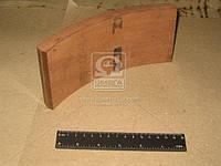 Накладка тормозная МАЗ, КРАЗ передний (производитель Трибо) 200-3501105