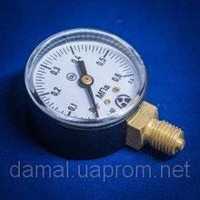 Манометр МП-50 0,6МПа углекислотный