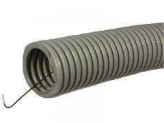 Гофротруба D 16 мм с протяжкой