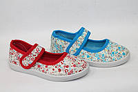 Купить оптом детские тапочки из текстиля для девочек от фирмы M.L.V B666 (12 пар, 25-30)