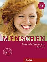 Menschen A1 Kursbuch mit Lerner DVD-ROM. Deutsch als Fremdsprache (Проекты №21)