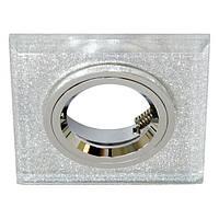 Точечный светильник Feron 8170-2 (разнообразие цветов!) мерцающее серебро