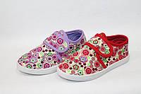 Купить оптом детские тапочки из текстиля для девочек от фирмы M.L.V B692 (12 пар, 25-30)
